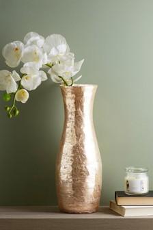 Gold Mercury Effect Vase