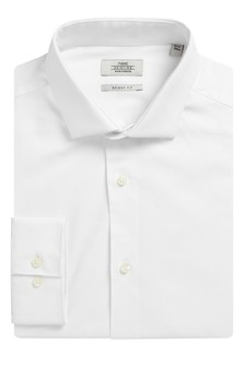 Poplin Stretch Cotton Shirt