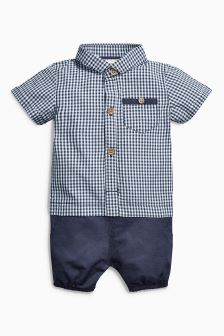Gingham Two Part Set (0mths-2yrs)