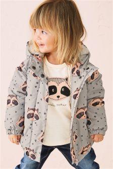 Практичная куртка с принтом (3 мес.-6 лет)
