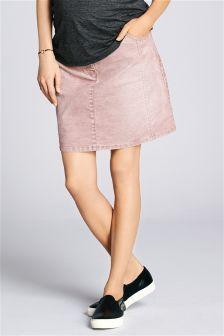 Maternity Cord Skirt