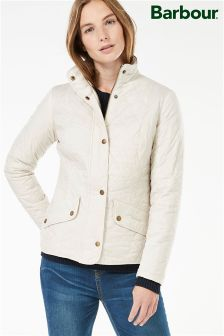Barbour® Stone Flyweight Cavalry Quilted Jacket