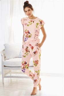Jersey Ruffle Pyjamas