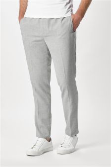 Formal Drawstring Trousers