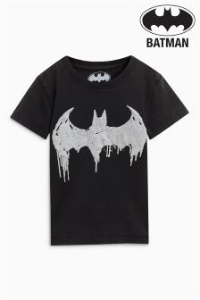 Short Sleeve Foil Batman® T-Shirt (3mths-6yrs)