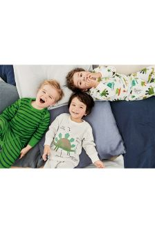 Dinosaur Snuggle Pyjamas Three Pack (9mths-8yrs)