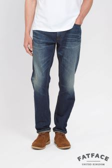 Fat Face Denim Greencast Slim Jean