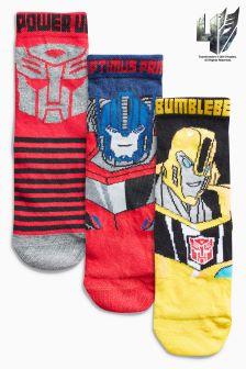 Transformers Socks Three Pack (Older Boys)