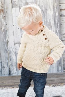 Cable Knit Jumper (3mths-6yrs)