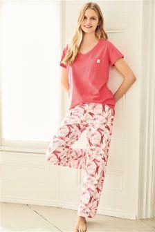 Dragonfly Short Sleeve Pyjamas