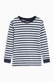 Striped Long Sleeve Top (3-16yrs)