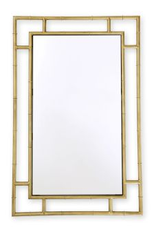 Brass Effect Mirror