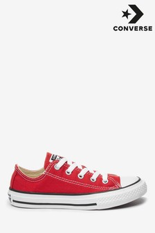 Converse Red Chuck Taylor All Star Lo