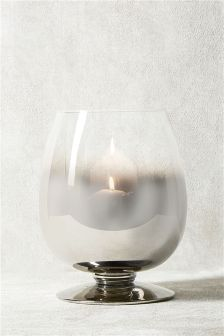 Collection Luxe Chrome Ombre Candle Holder