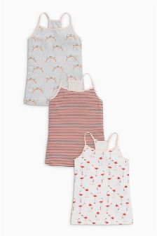 Character Camis Three Pack (3-16yrs)