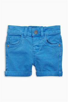 弹力斜纹布短裤 (3个月-6岁)