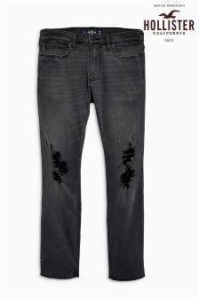 Hollister Black Wash Skinny Jean
