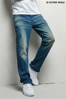 Свободные джинсы с эффектом поношенности G-Star 3301