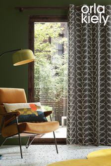 Orla Kiely Linear Stem Curtains