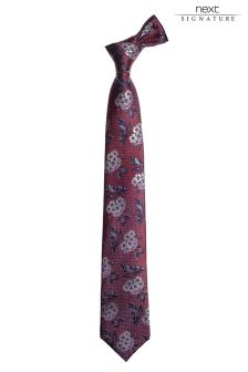 Signature Silk Woven Tie