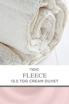 Supersoft Fleece 13.5 Tog Duvet