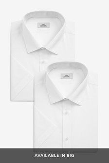 Plain Shirts Two Pack