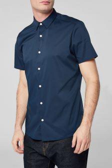 Short Sleeve Stretch Shirt