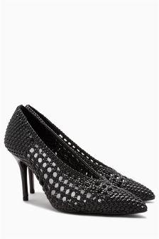 Weave Court Shoes
