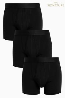 حزمة من ثلاثة ملابس داخلية من مجموعة Signature