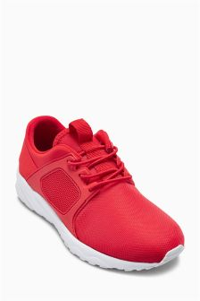 Fashion Mesh Trainers (Older Boys)