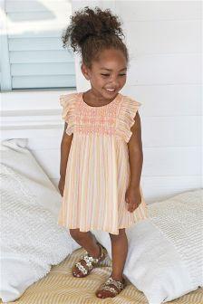 Metallic Stripe Dress (3mths-6yrs)