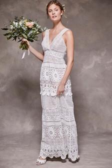 Crochet Lace Bridal Dress