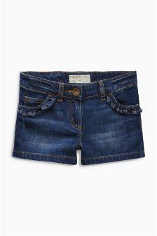 Ruffle Pocket Shorts (3-16yrs)