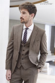 Signature Textured Suit