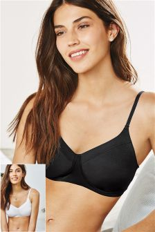 Daisy Light Padded Non Wire Bra Two Pack