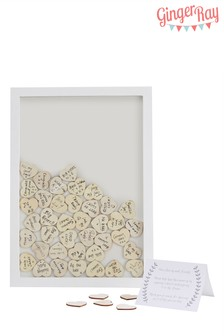 Ginger Ray Wooden Frame Guestbook