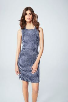 Ribbed Texture Dress