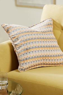 Oval Geo Cushion
