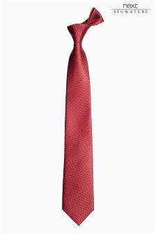 Signature Patterned Tie