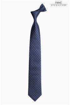 Коллекционный галстук в горошек