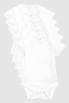 Short Sleeve Bodysuits Five Pack (0mths-3yrs)