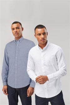 Zestaw dwóch koszul oksfordzkich