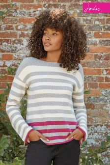 Joules Cream Rowena Jumper