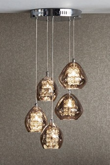 Lighting ceiling lights ceilinglights next ireland bella 5 light cluster mozeypictures Choice Image