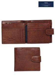 Signature Italian Leather Extra Capacity Popper Wallet