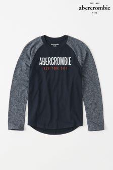 Abercrombie & Fitch Long Sleeve Raglan Tee