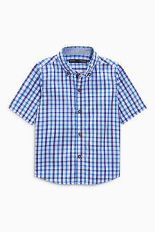 Gingham overhemd (3 mnd-6 jr)