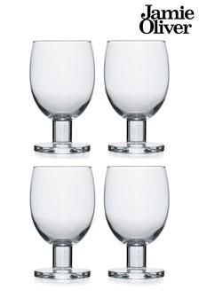 Jamie Oliver 4 Pack Wine Glasses