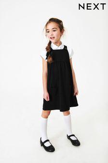 Трикотажное платье-сарафан (3-14 лет)