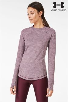 Under Armour Raisin Red Cold Gear Reactor Long Sleeve